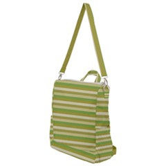 Stripey 11 Crossbody Backpack by anthromahe