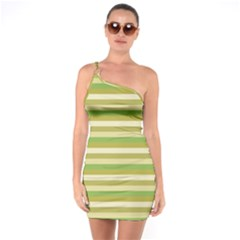 Stripey 11 One Soulder Bodycon Dress by anthromahe