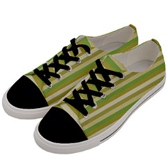 Stripey 11 Men s Low Top Canvas Sneakers by anthromahe