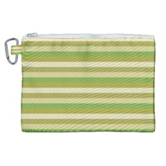 Stripey 11 Canvas Cosmetic Bag (xl) by anthromahe
