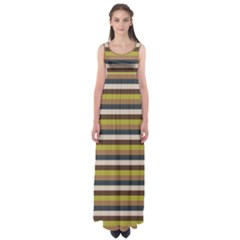 Stripey 12 Empire Waist Maxi Dress by anthromahe
