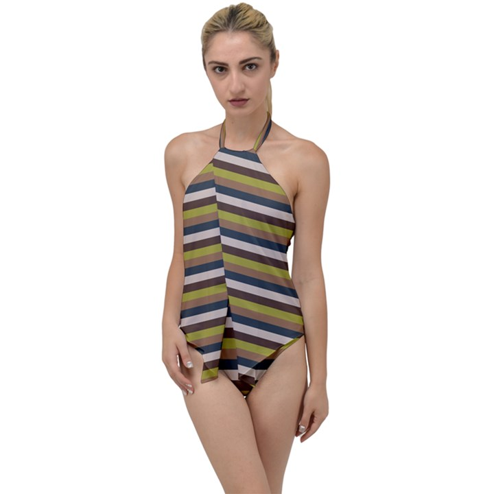 Stripey 12 Go with the Flow One Piece Swimsuit