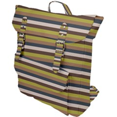 Stripey 12 Buckle Up Backpack by anthromahe