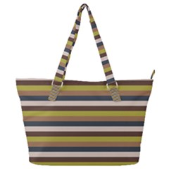 Stripey 12 Full Print Shoulder Bag by anthromahe