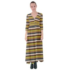 Stripey 12 Button Up Maxi Dress by anthromahe