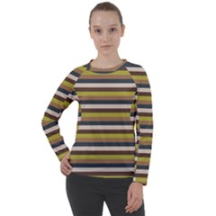 Stripey 12 Women s Long Sleeve Raglan Tee