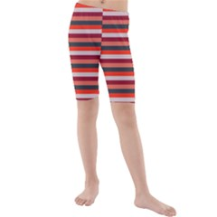 Stripey 13 Kids  Mid Length Swim Shorts