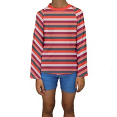 Stripey 13 Kids  Long Sleeve Swimwear