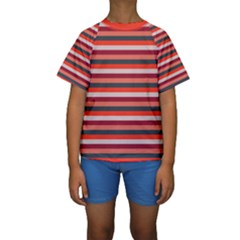 Stripey 13 Kids  Short Sleeve Swimwear