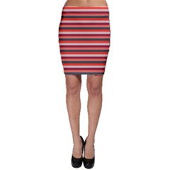 Stripey 13 Bodycon Skirt
