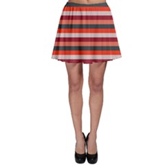 Stripey 13 Skater Skirt