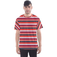 Stripey 13 Men s Sports Mesh Tee