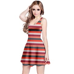 Stripey 13 Reversible Sleeveless Dress