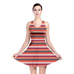 Stripey 13 Reversible Skater Dress