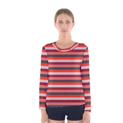 Stripey 13 Women s Long Sleeve Tee