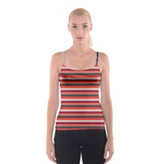 Stripey 13 Spaghetti Strap Top