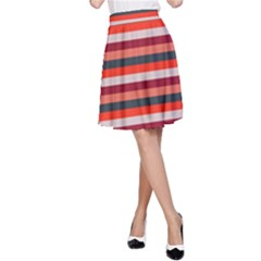 Stripey 13 A-Line Skirt