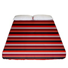 Stripey 13 Fitted Sheet (California King Size)
