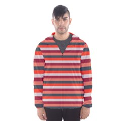 Stripey 13 Men s Hooded Windbreaker
