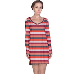 Stripey 13 Long Sleeve Nightdress