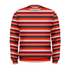 Stripey 13 Men s Sweatshirt