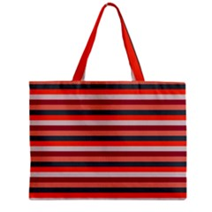 Stripey 13 Zipper Mini Tote Bag