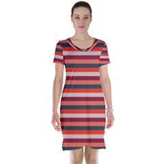 Stripey 13 Short Sleeve Nightdress