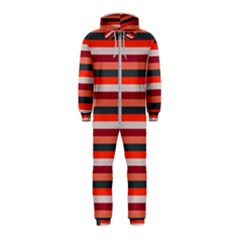 Stripey 13 Hooded Jumpsuit (Kids)