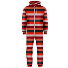 Stripey 13 Hooded Jumpsuit (Men)
