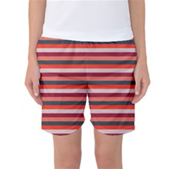 Stripey 13 Women s Basketball Shorts