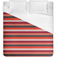 Stripey 13 Duvet Cover (King Size)