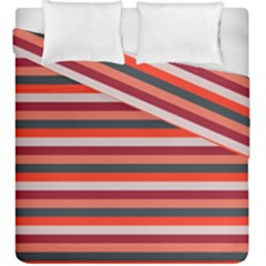 Stripey 13 Duvet Cover Double Side (King Size)