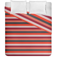 Stripey 13 Duvet Cover Double Side (California King Size)