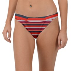 Stripey 13 Band Bikini Bottom