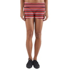 Stripey 13 Yoga Shorts