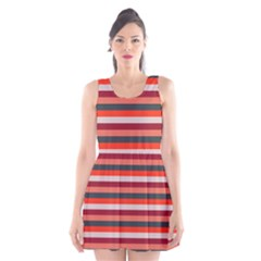 Stripey 13 Scoop Neck Skater Dress