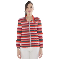 Stripey 13 Women s Windbreaker