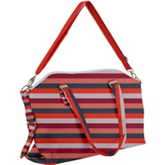 Stripey 13 Canvas Crossbody Bag