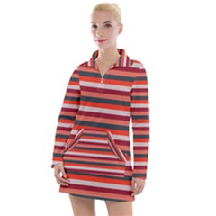 Stripey 13 Women s Long Sleeve Casual Dress