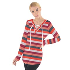 Stripey 13 Tie Up Tee
