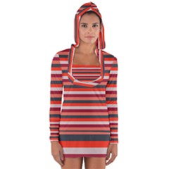 Stripey 13 Long Sleeve Hooded T-shirt