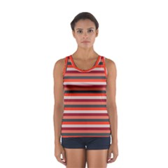 Stripey 13 Sport Tank Top
