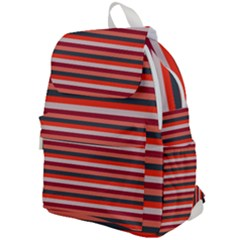 Stripey 13 Top Flap Backpack