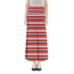 Stripey 13 Full Length Maxi Skirt