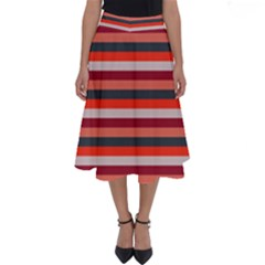 Stripey 13 Perfect Length Midi Skirt