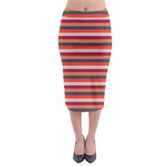 Stripey 13 Midi Pencil Skirt