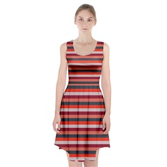 Stripey 13 Racerback Midi Dress