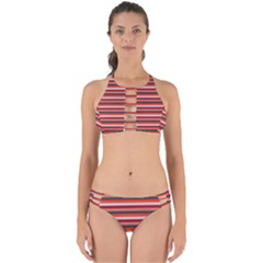 Stripey 13 Perfectly Cut Out Bikini Set
