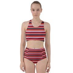 Stripey 13 Racer Back Bikini Set
