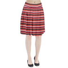 Stripey 13 Pleated Skirt